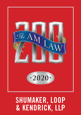 Shumaker Recognized as a 2020 Am Law 200 Firm
